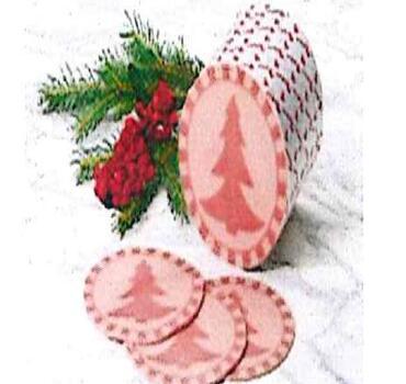 Happy Kerstboom Figuurworst