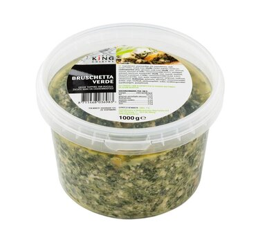 Bruschetta Rucola/Cashewnoten 1kg