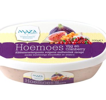 Hoemoes Vijg & Cranberry 6x200gr.