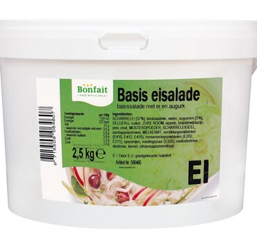 Basis Eiersalade CL 2,5kg