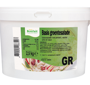Basis Groentesalade 2,5kg