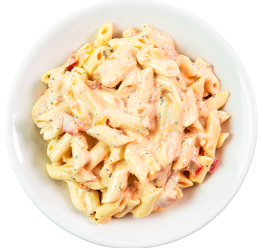Pastasalade Pesto Bianco